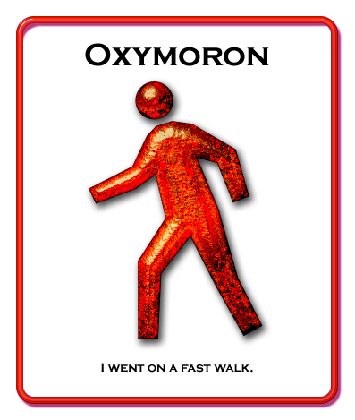 oxymoron example in literature