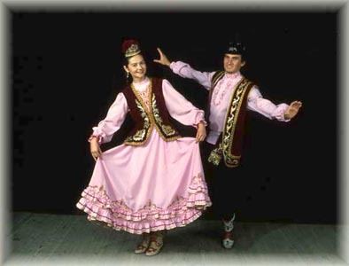 татарский народный костюм. фото