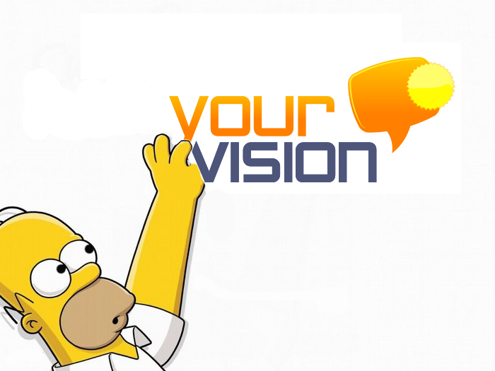 Гомер и yvision!