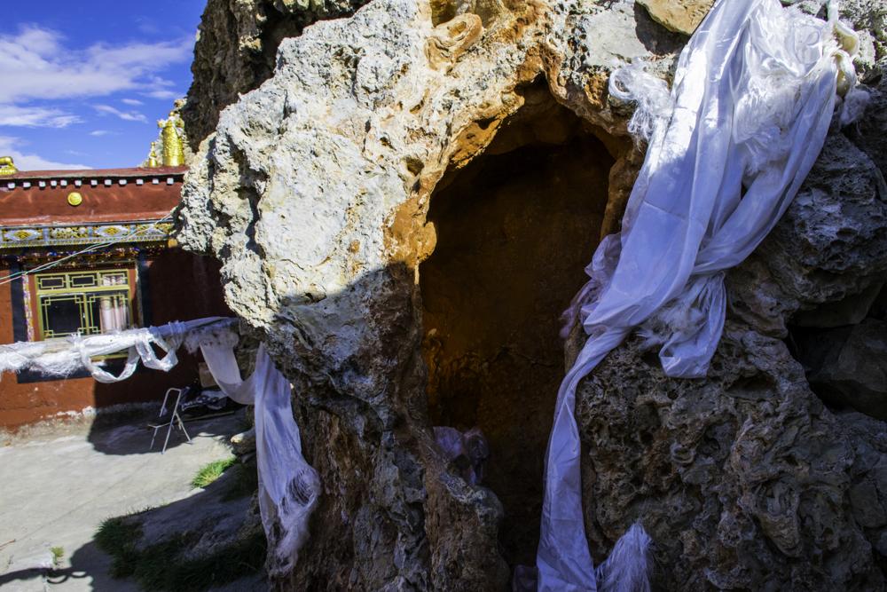 монастырь Тирапури, пещера Вадраварахи, Западный Тибет