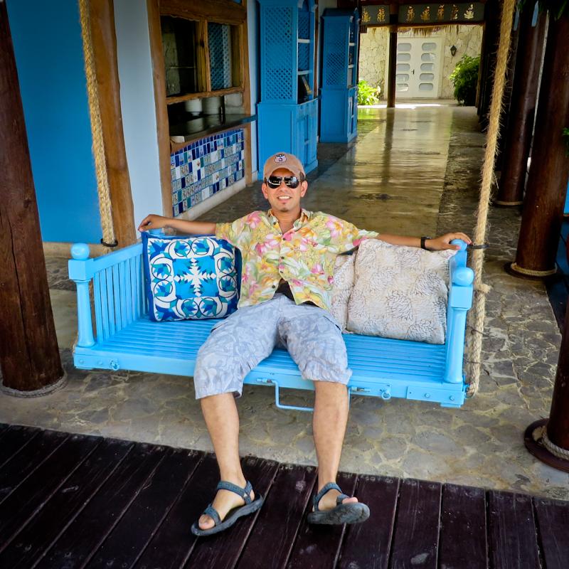 горный гид Андрей Гундарев (Алмазов) в Доминикане
