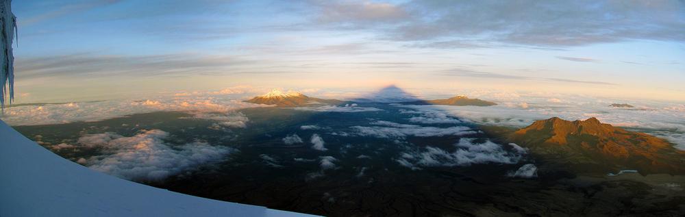 вулкан Котопакси, Эквадор