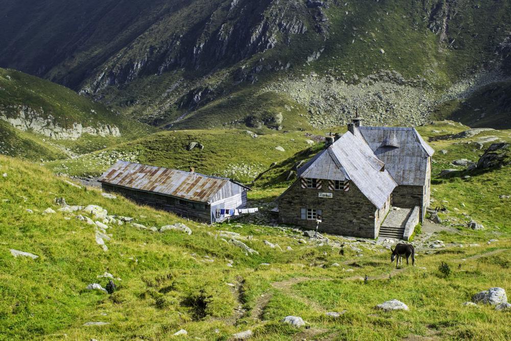массив Фэгэраш, Южные Карпаты, Румыния, озеро Подрагу