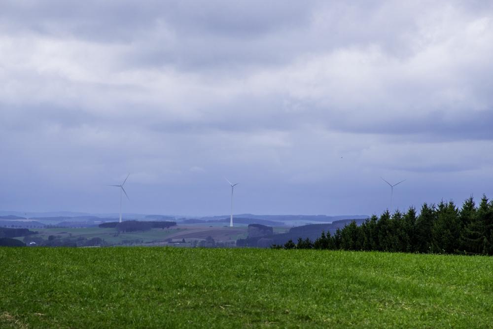 Люксембург и высшая точка Люксембурга холм Кнайфф