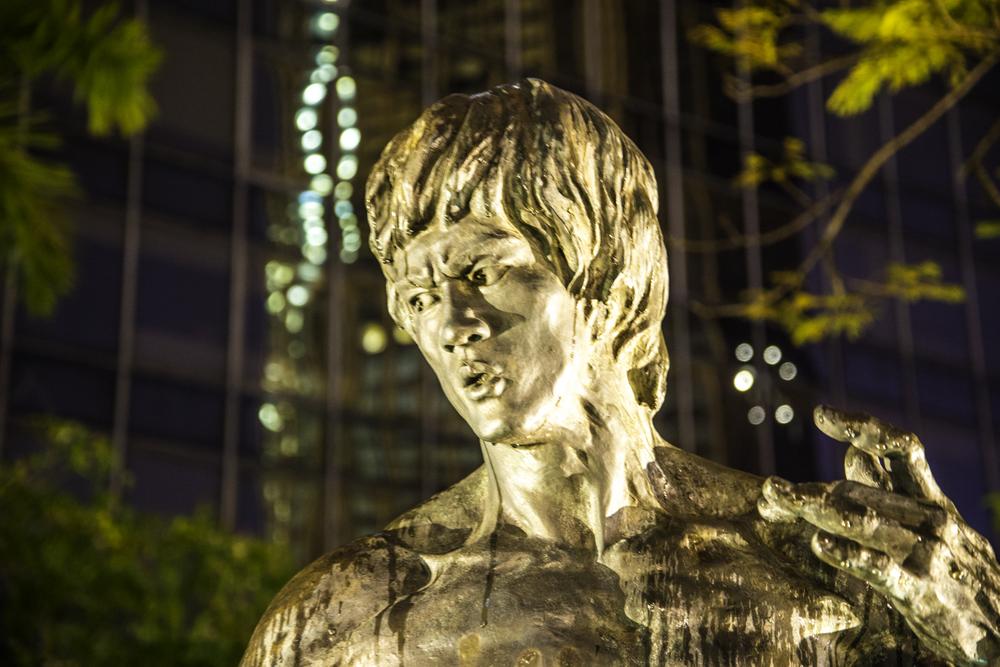Брюс Ли в Гонконге