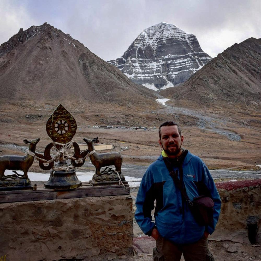 алматинский путешественник Андрей Гундарев (Алмазов) в Тибете