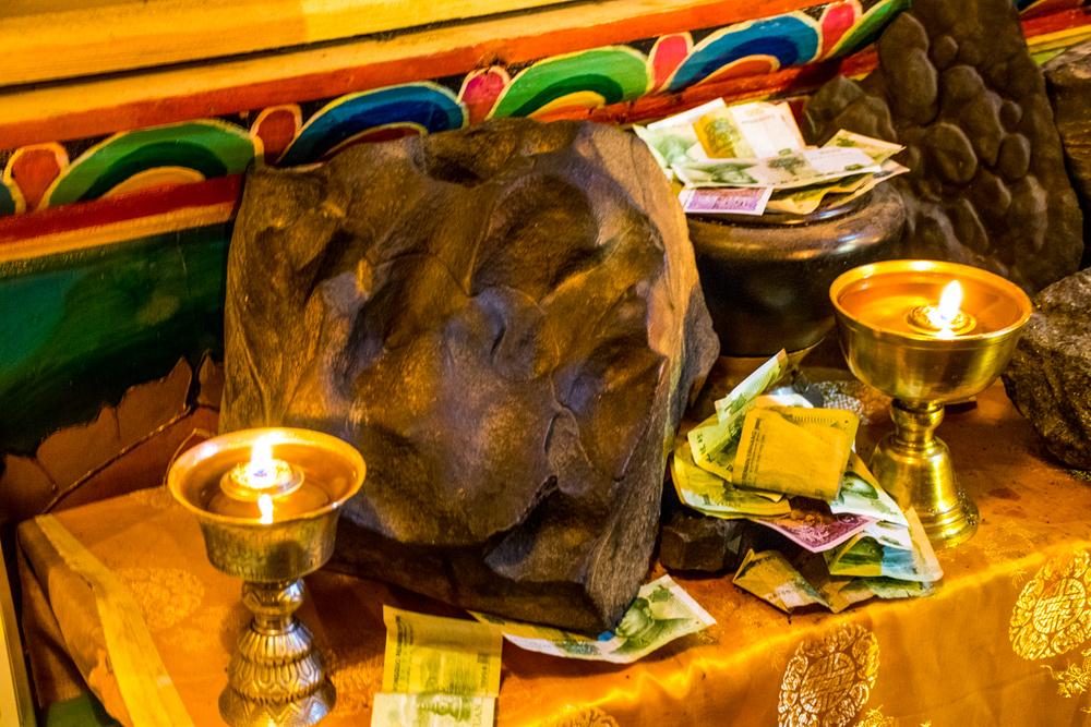 Восточный Тибет, монастырь Пангпхуг, торма Палден Лхамо