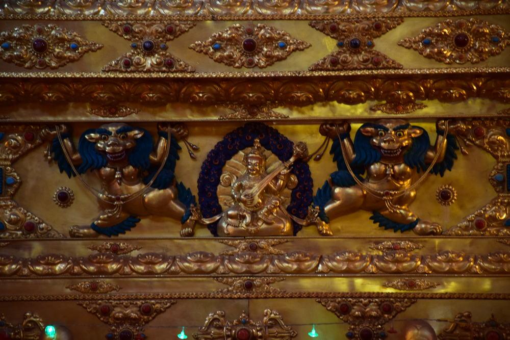 ступа с реликвиями Пенора Ринпоче, тибетская традиция Ньгма