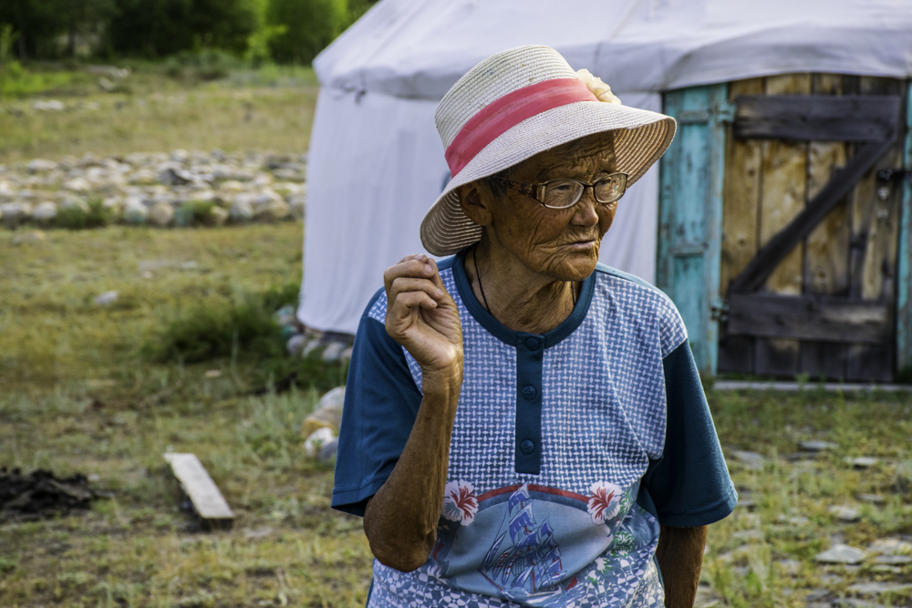 Баба Лена, Большой Яломан, Горный Алтай