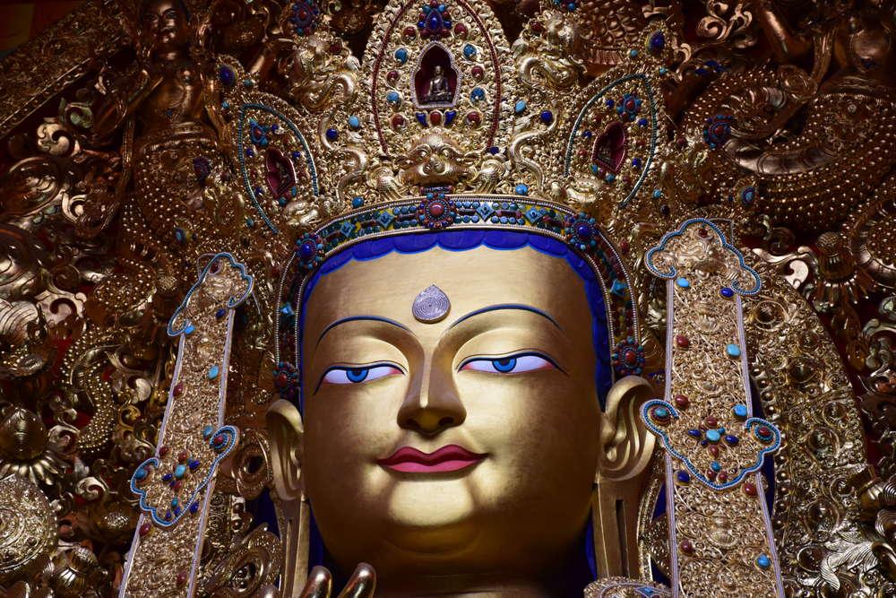 Будда Будущего Майтрея, монастырь Палпунг, Восточный Тибет