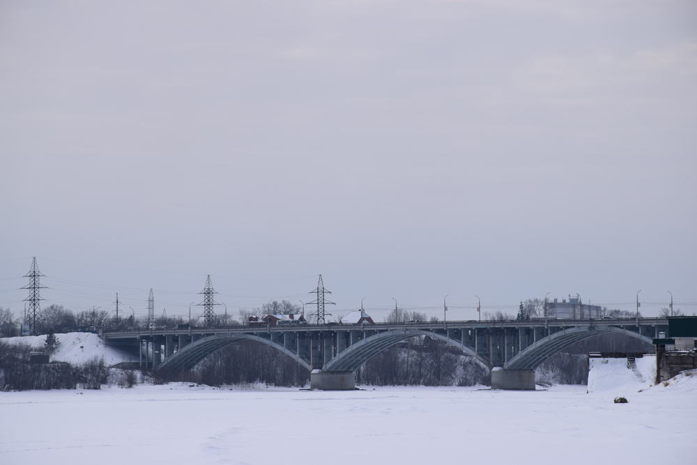 рек Бия в городе Бийск