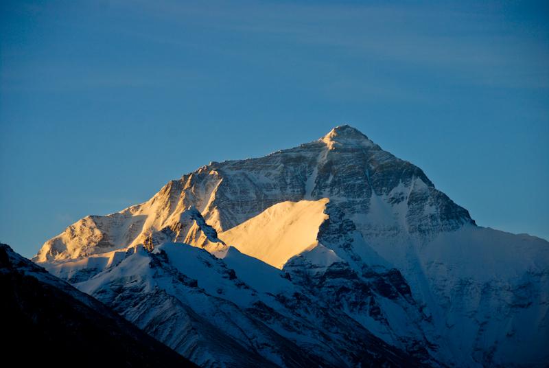 Эверест вид с Тибета