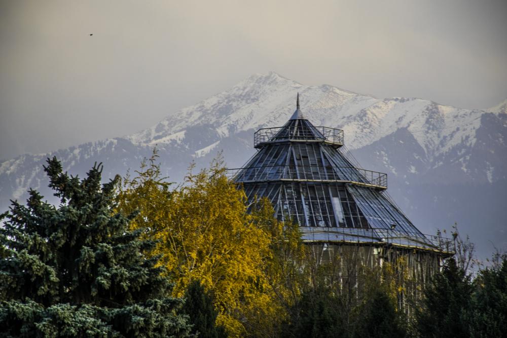 осень в Алма-Ате, Ботанический Сад