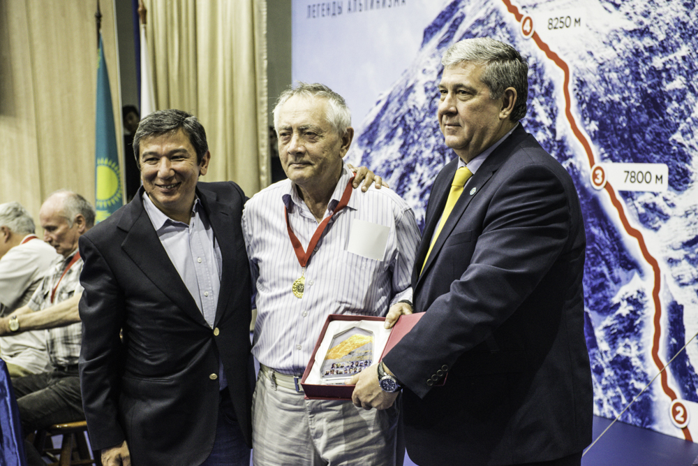 Участники экспедиции Эверест-82 в Алматы