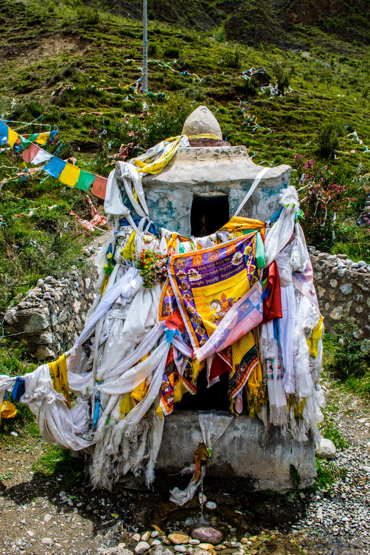 родник Первого Кармапы, Гардзе, Восточный Тибет