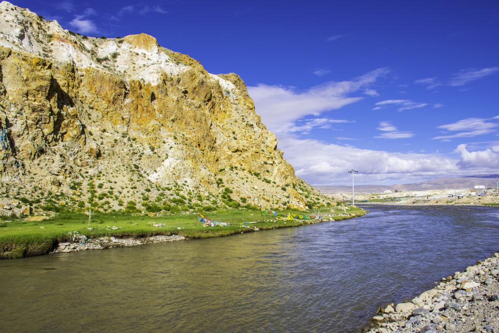 долина реки Сатлендж, монастырь Тирапури, Западный Тибет