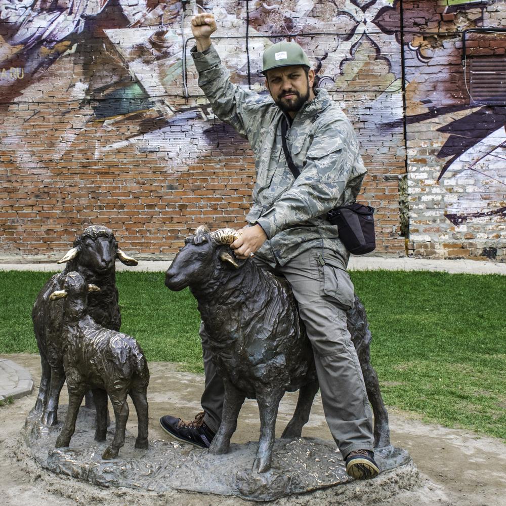 алматинский путешественник Андрей Гундарев (Алмазов) в Казани