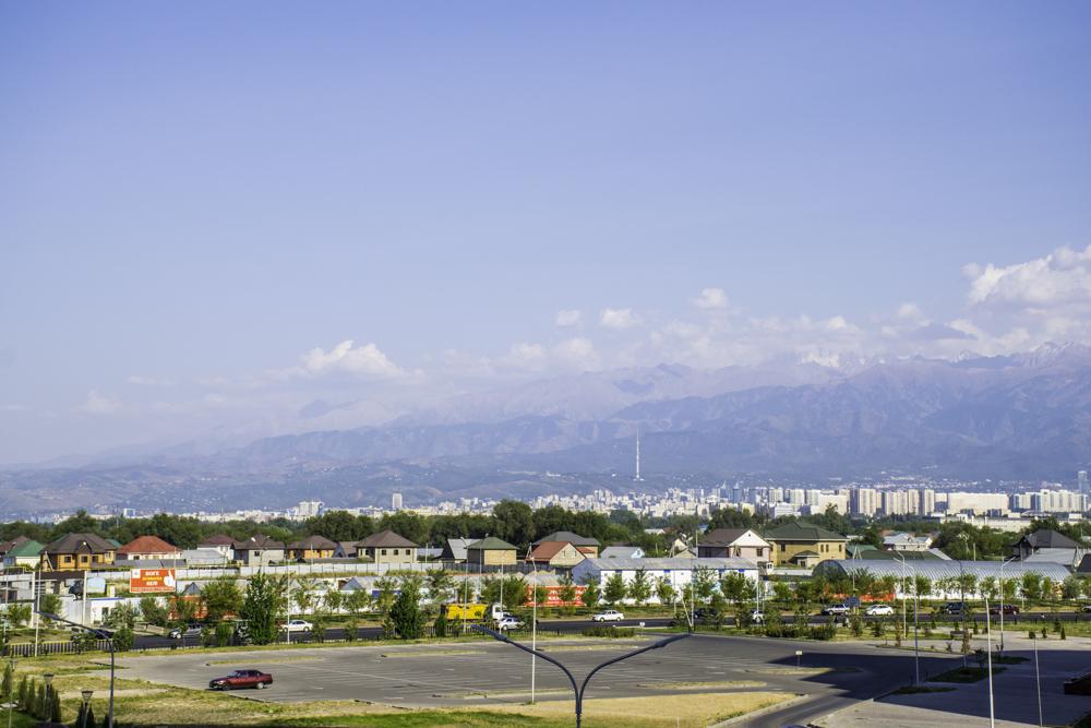 окраина Алматы