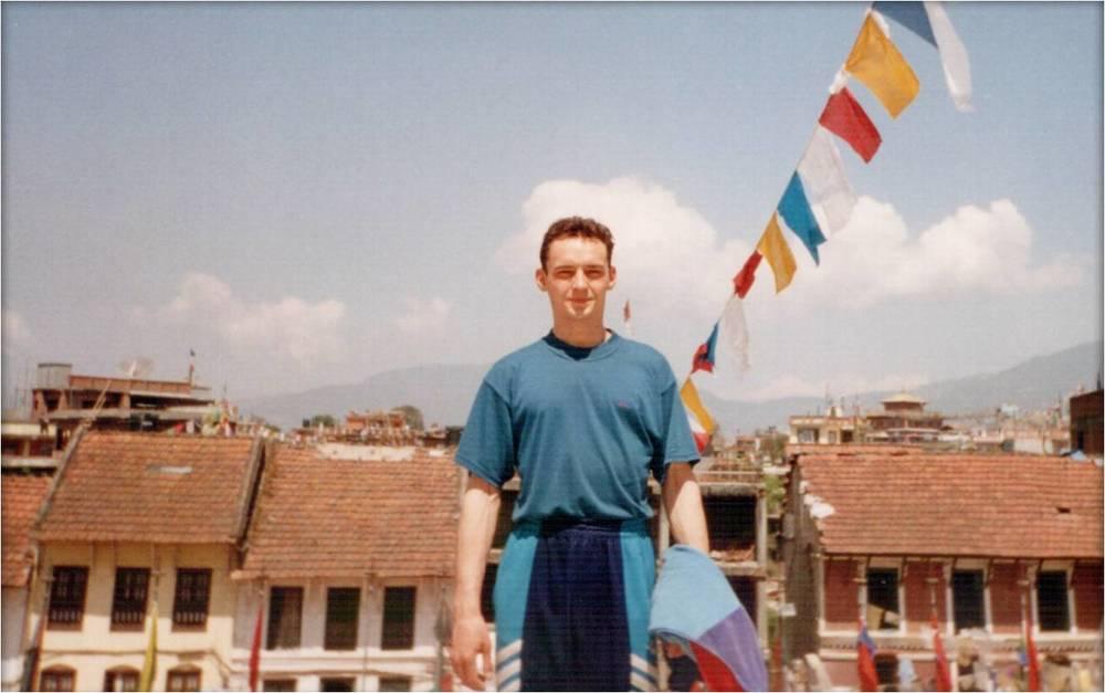 казахстанский альпинист Владимир Фролов в Катманду