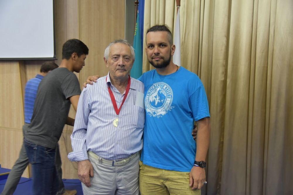 Ерванд Ильинский и Андрей Гундарев (Алмазов), альпинисты РК