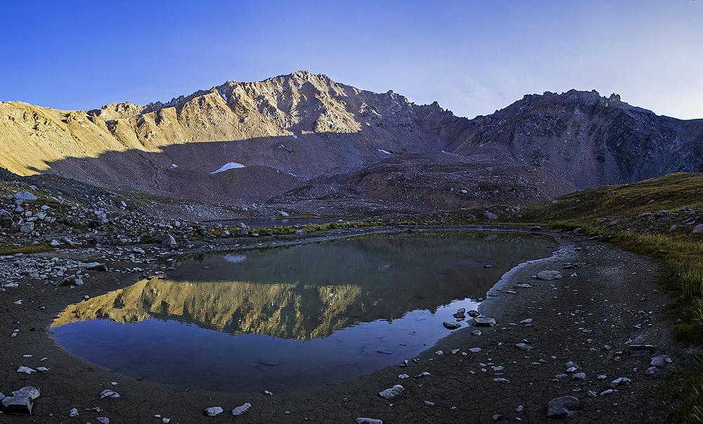 озеро под пиком Титова