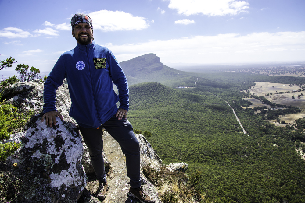 алматинский путешественник Андрей Гундарев (Алмазов) в Австралии