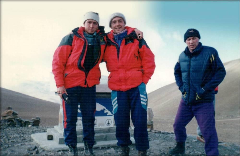 Андрей Молотов и Владимир Фролов, Эверест-97