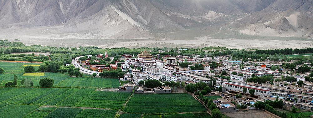 Монастырь Самье, первый монастырь Тибета построенный Гуру Ринпоче и Шантаракшитой