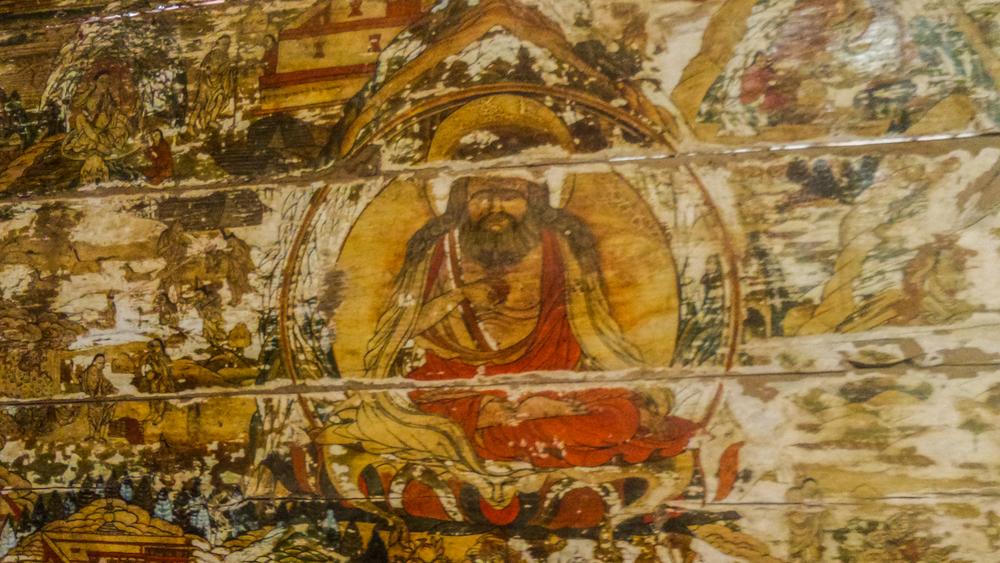 места Первого Кармапы, Марпа-переводчик