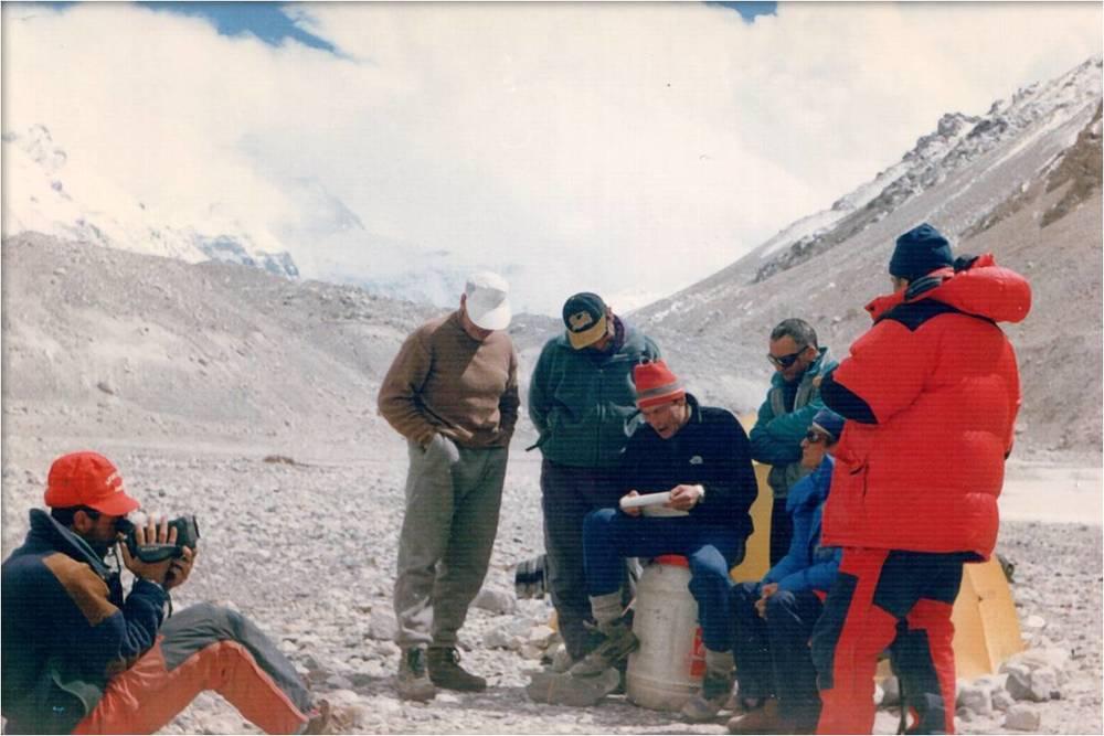 казахстанская экспедиция Эверест-97
