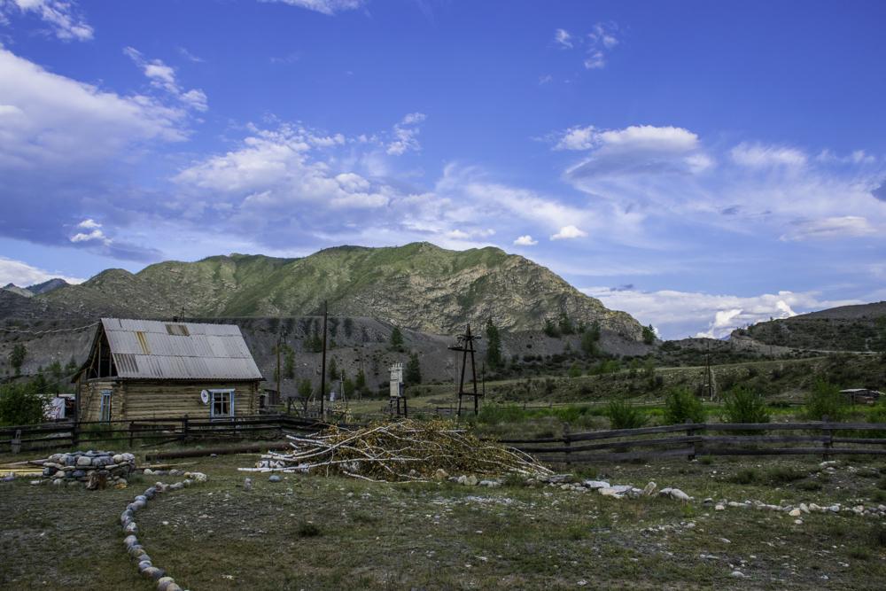 Большой Яломан, Горный Алтай