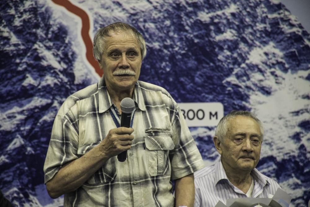 Эдуард Викентьевич Мысловский. ЗМС СССР и Заслуженный Тренер СССР по альпинизму.
