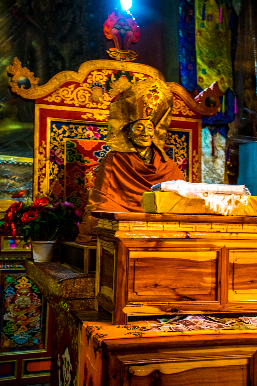 Калу Ринпоче, монастырь Бенген, Гардзе, Восточный Тибет