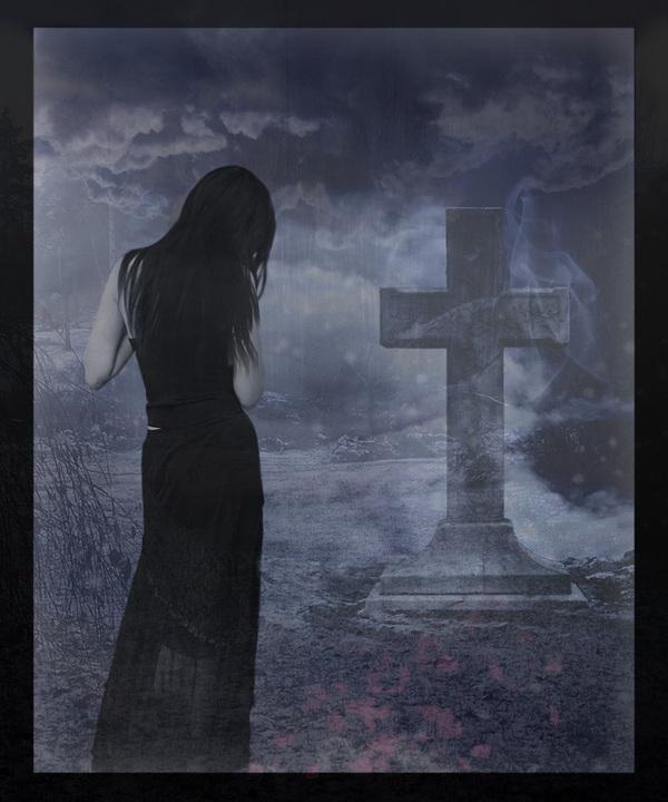 Грустные картинки о смерти мамы