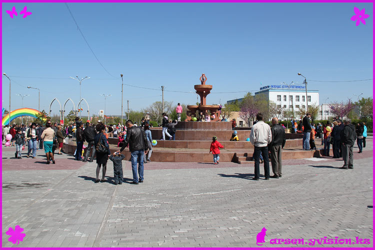Темиртау, 9 мая 2012