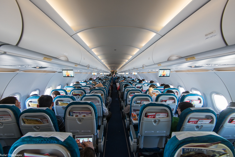 схема арабия a320 салона эйр airbus