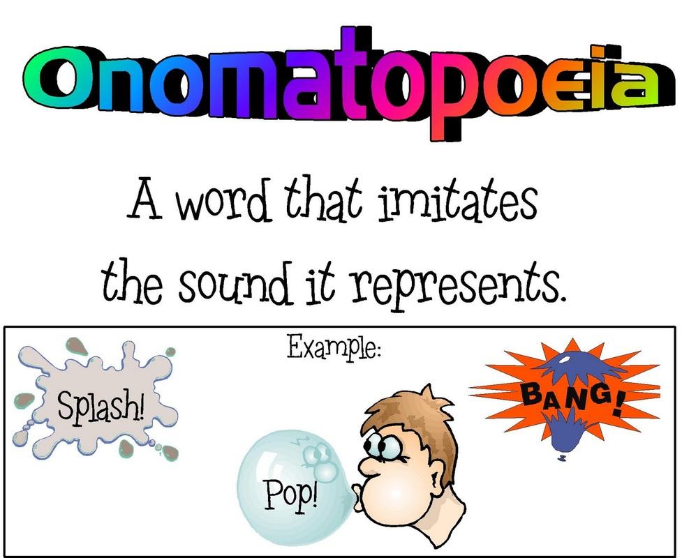Onomatopoeia Assonance Alliteration Rhyme Yvision