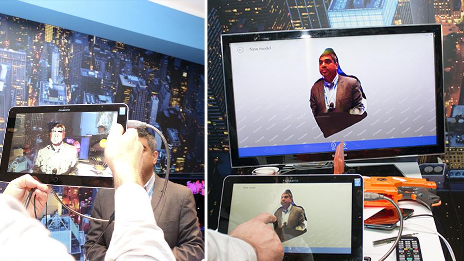 Intel RealSense 3d scan
