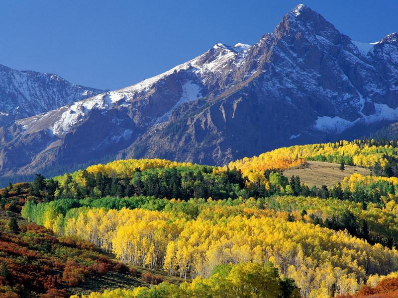 горы осенние горы Алматы