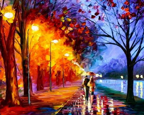 дождливая осень autumn