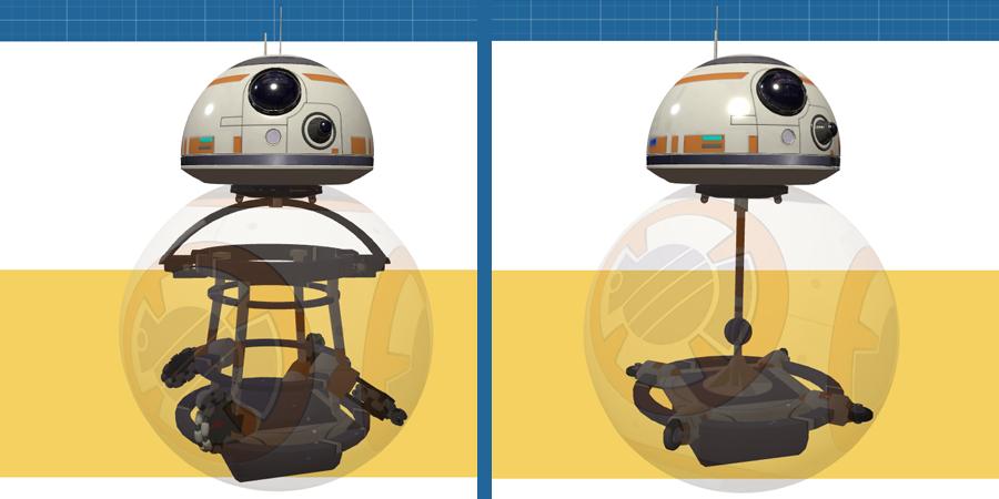 Droid BB8 Star wars звездные воины дроид круглый
