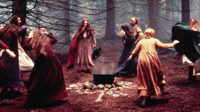 the witchcraft hysteria in the strict puritan community of salem in the crucible by arthur miller Mass hysteria in the crucible are accused of witchcraft and some hanged in arthur miller's of mass hysteria in salem was an opportunity.