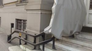 Пандусы у здания городского суда