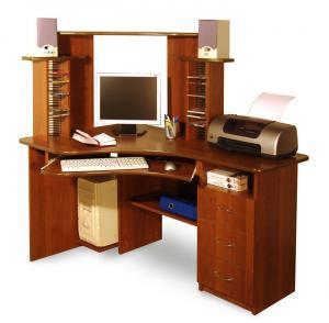 стол, компьютерный стол, угловой стол, компьютер,