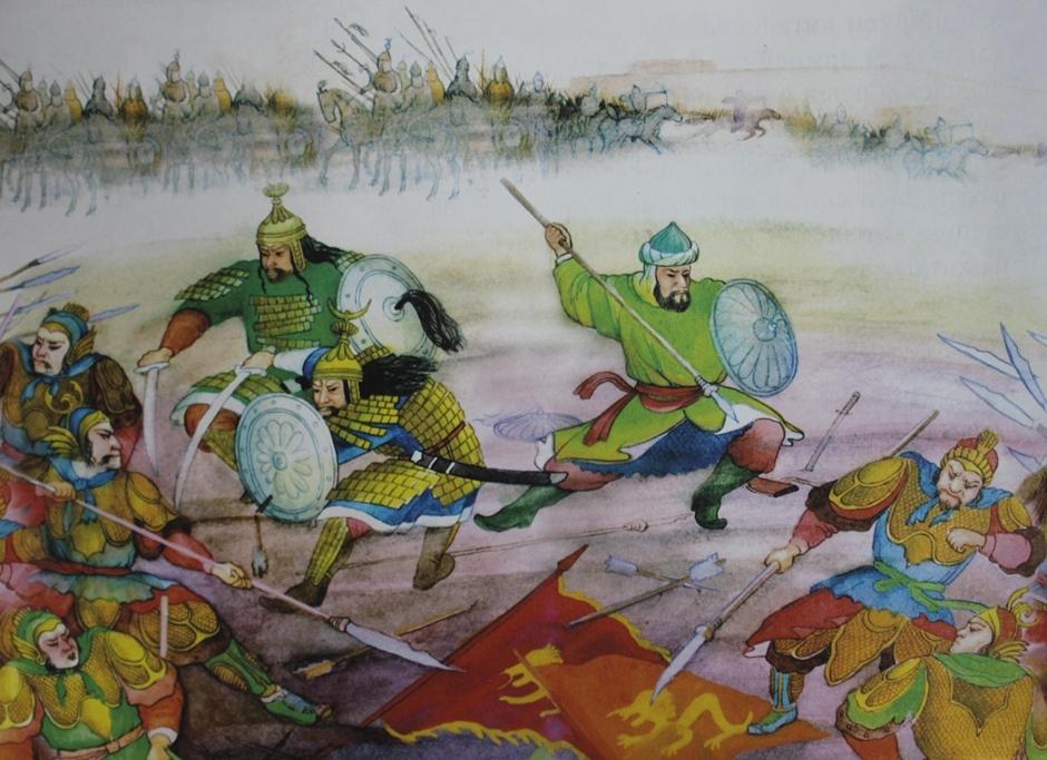 Историческое значение Атлахской битвы в судьбе казахов