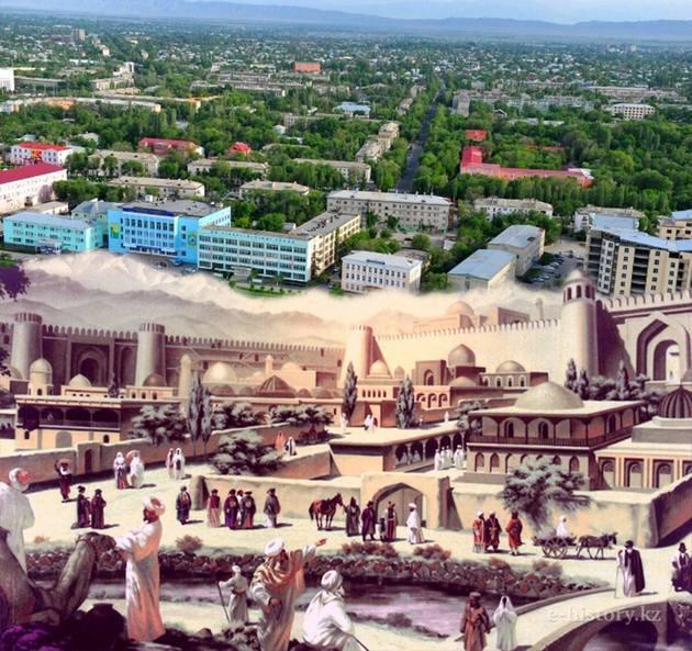 Древние города Казахстана: «Тараз. Сквозь вехи тысячилетий»