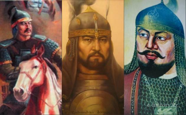 Прославленные батыры трех жузов