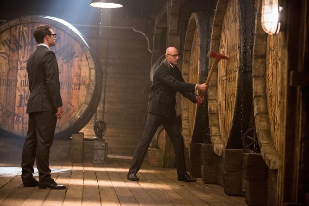 """""""Kingsman: Золотое кольцо"""" вытаскивает зрителя из зоны ..."""