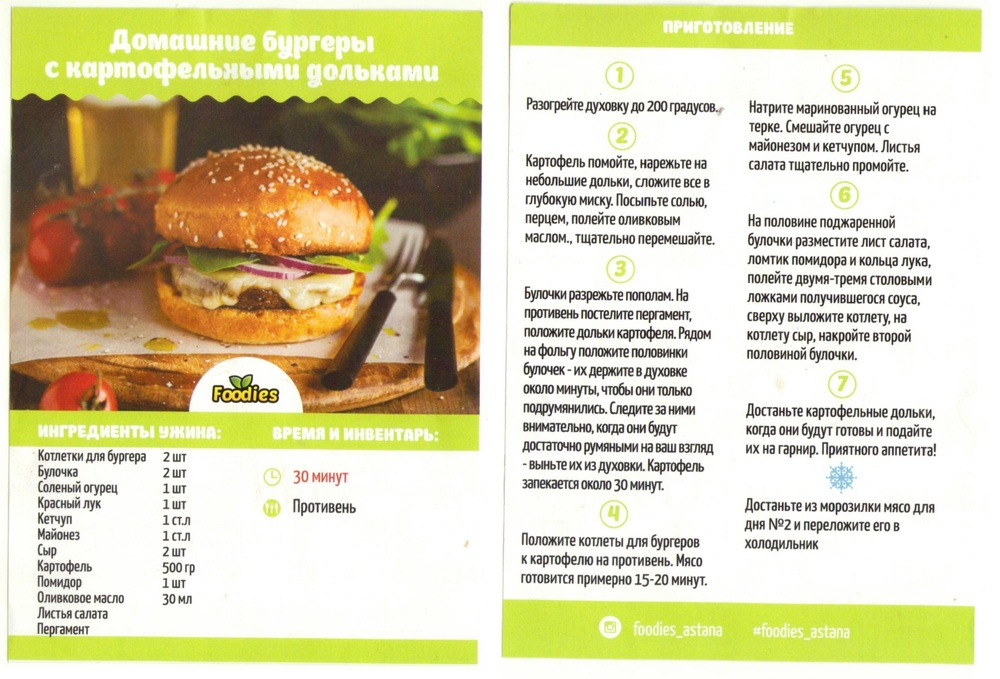 Гамбургер в домашних условиях рецепты