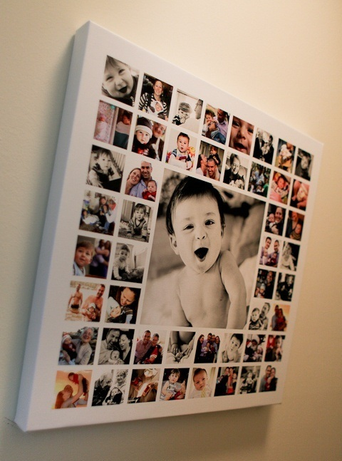 Как сделать картинку с фотками